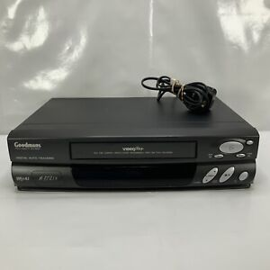 Goodmans GVR5001 VHS Tape Player Working No Remote