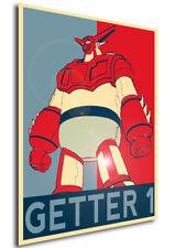 Poster Propaganda - ROBOT - Getta Robot - Getter 1