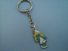 "GIRLS CHARACTER ""SMURFETTE""  KEY RING,FREE POST IN OZ!!"