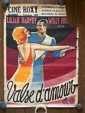 *LOVE WALTZ (1930) Lilian Harvey & Willy Fritsch German Musical Pre-War Belgian