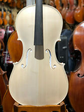 Reghino 4/4 Geigenbauer Cello in White Stradivarius Model, Cello