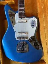 RARE USA Fender 50th Anniversary Jaguar Lake Placid Blue Limited Guitar BODYONLY