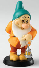 Disney Blushing Dwarf Bashful Seven Dwarfs Figurine NEW in Gift Box