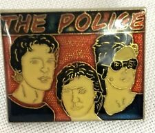 The Police Pin Square Pin Back