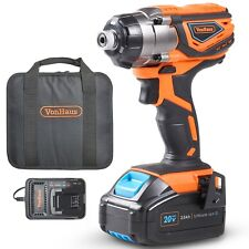 VonHaus Cordless Impact Driver & 3.0Ah Li-ion 20V MAX Battery, Charger & Bag