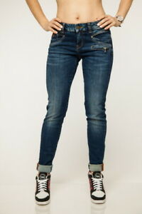 M.O.D Damen Jeans SUZY Skinny Minya Blue