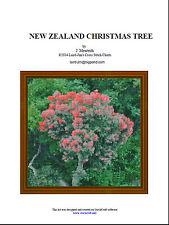 NEW ZEALAND CHRISTMAS TREE- cross stitch chart