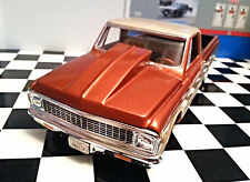 LEX'S SCALE MODELING Resin Outlaw Hood for '72 Chevy P/U AMT 1/25 HOT!