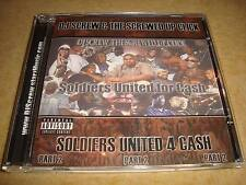 DJ SCREW & THE SCREWED UP CLICK - Soldiers United For Cash : Part 2
