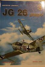 WW2 German JG 26 Schlageter Vol.1 Jagdgeschwader Aircraft Reference Book
