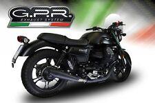 Moto Guzzi V7 III Special/Stone 2017-2018 GPR Terminali Scarico Vintacone Nero
