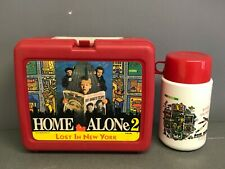 Home Alone 2 lunchbox with thermos 1992