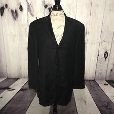Giorgio Cosani Super 150s Pin Stripe Wool Cashmere Suit Jacket 44R Blazer (U25