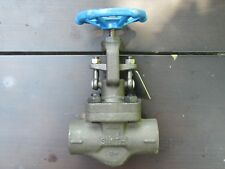 1'' Smith Valve #0G800000W 800# Forge Steel A-105 Socket End Globe Valve New