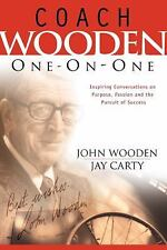 Coach Wooden One-on-One John Wooden Jay Carty 2003 Regal AUTOGRAPHED Cover