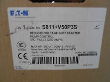 EATON S811+V50P3S  SOFT START S801 400 HP CUTLER HAMMER SOFTSTART