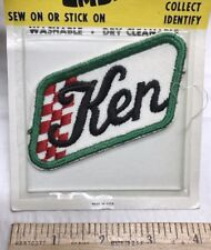NOS Vintage The Show Offs KEN Name Colorful Embroidered Uniform Patch NIP