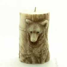Big Animal 3D Wolf Silicone Candle Mold Wax Pillar Soap Clay Craft Art DIY Mould