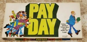 1975 PayDay Board Game by Parker Brothers Great Condition Complete FREE SHIPPING
