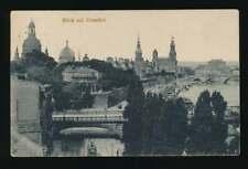 AK Blick auf Dresden, Elbpanorama, gelaufen 1919 (58703)