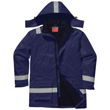 Portwest Workwear Mens FR Winter Jacket XXL Fr59narxxl Navy
