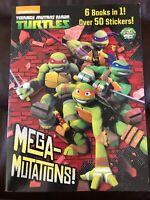 NEW Mega-Mutations Teenage Mutant Ninja Turtles (Random House)) by Golden Books