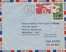 Lettre Saigon Vietnam Croix Rouge China Red Cross Cover Asia