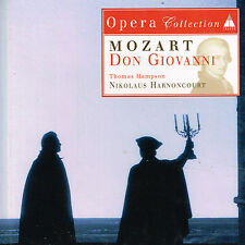 CD album: Mozart: don Giovanni. Harnoncourt. teldec. C3