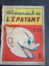 Almanach de L' Epatant de 1935