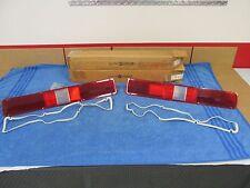 1971 PLYMOUTH FURY III SPORT FURY RH AND LH TAIL LAMP LENSES PAIR  NOS MOPAR 415