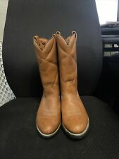 Wolverine Brown insulated Cowboy Boots size 12D pre owned in amazing shape