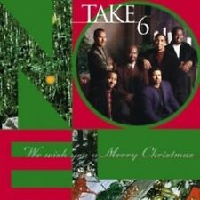 TAKE 6 - WE WISH YOU A MERRY CHRISTMAS  CD  11 TRACKS VOCAL JAZZ  NEW+