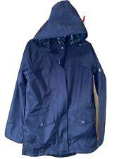 Barbour ladies Dalgetty rain  jacket / size 10 / Hooded