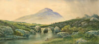 F. Walters - Early 20th Century Watercolour, Yes Tor