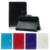 7/8/9/10 Inch Universal Crystal Leather Protector Case Stand Cover For Tablet PC