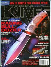Tactical Knives Magazine May 2008 Raging Bull-Dozier Ex No Ml 101516jhe