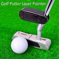Golf Putter Laser Pointer Putting Training Aim Line Corrector Aid Tools Practice
