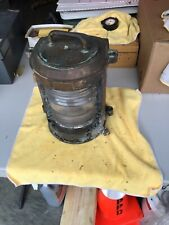 "Perkins "" Perko� Wwii era maritime ship running light clear fresnel lens"
