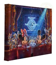 Thomas Kinkade Studios Disneys 90 Years of Mickey 11 x 14 Wrapped Canvas