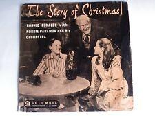"Ronnie Ronalde, Norrie Paramor - Story Of Christmas - Columbia - SEG7838 (7"" EP)"