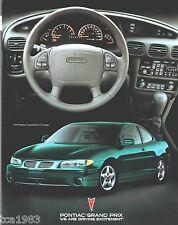 1997 Pontiac GRAND PRIX Brochure; GT,