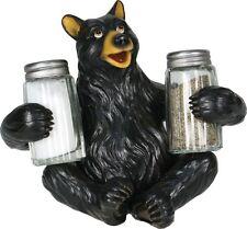 Bear Salt & Pepper Shaker Set,Collectible,Riversedge 546