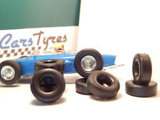 8 pneus AR urethane pour  race tuned SCALEXTRIC