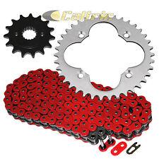Red O-Ring Drive Chain & Sprockets Kit Fits HONDA TRX400EX Sportrax 400 1999-04