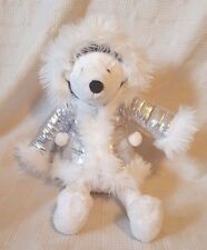 Bath and Body Works IGLOO Plush POLAR BEAR w/Silver Parka 16""