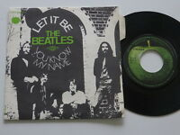 "THE BEATLES- Let it Be / You Know my Name 7"" France First-Press Picture - Sleeve"
