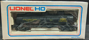 LIONEL: DOW CHEMICAL, MICHIGAN. GWEX #48416. HO BLACK 3-DOME Tank Car BOXED