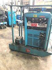 Lincoln Idealarc Tig 300300 300 Amp Acdc Tigstick Welder Power Source Amp Tank