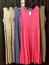 Lange Damenkleider aus Baumwolle in Übergröße