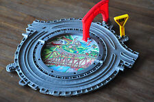 THOMAS and FRIENDS Take Along & N Play Fold up Roundabout *RARE - Excellent